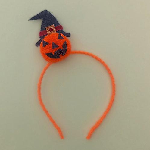 Tiara Abóbora Halloween dia das bruxas acessórios para meninas acessórios femininos moda infantil arco