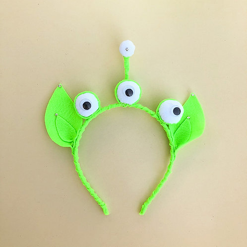 Tiara Alienígena moda feminina moda infantil acessórios para meninas arco