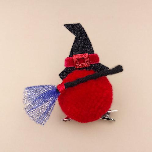 Presilha Bruxinha moda infantil moda feminina acessórios para meninas dia das bruxas