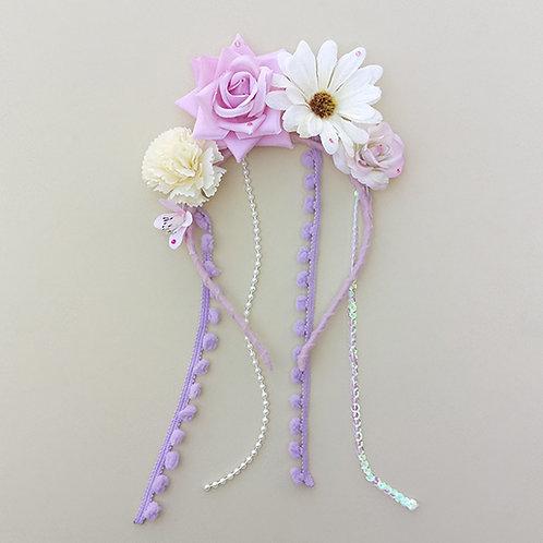Tiara Flores acessórios para meninas moda infantil feminina