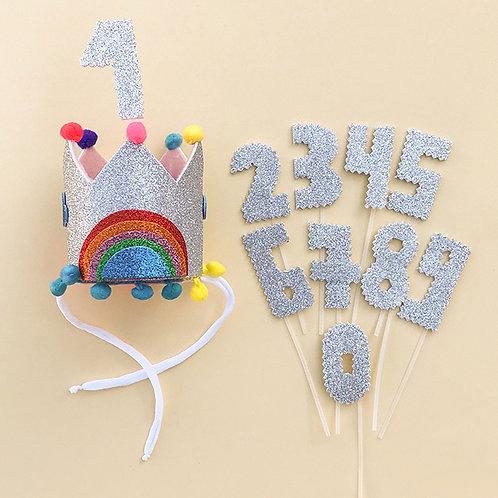 Coroa Aniversário acessório feminino, acessório para meninas, acessório de cabelo, acessório de cabeça, acessório infantil