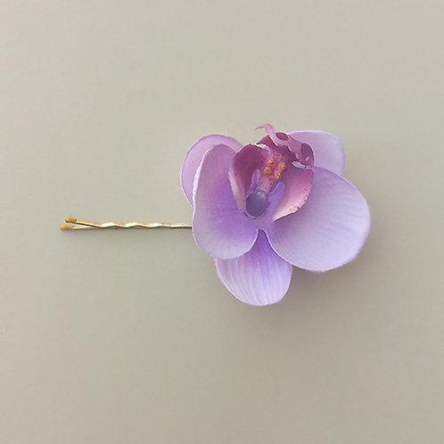Grampo Flor Orquídea moda feminina acessórios para meninas moda infantil presilha