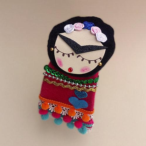 Tiara Frida Kahlo moda feminina moda infantil acessórios para meninas acessórios femininos arco