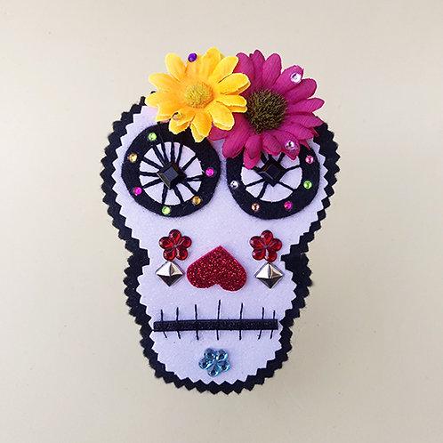 Tiara Mexicana com flores Halloween dia das bruxas acessórios para meninas moda infantil acessórios femininos arco