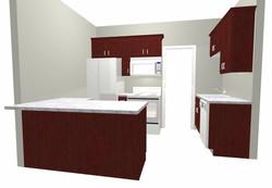 3D Renderings Everett Duplex