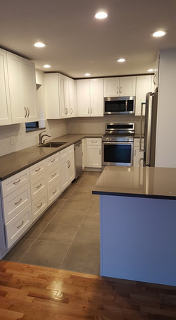 W. Seattle Kitchen Remodel  After