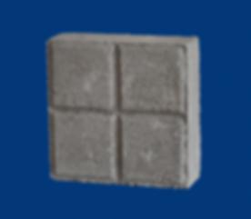 Adocreto cuadrado gris variedad de figur