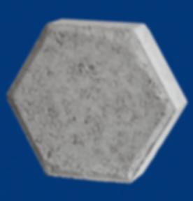 Adoquin hexagonal gris pavimentos norma