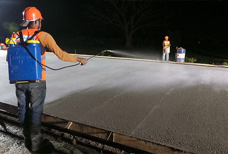 Curing Membranes for Concrete Constructi