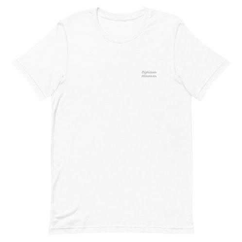 """18.19 """"Written"""" Short-Sleeve Unisex T-Shirt"""