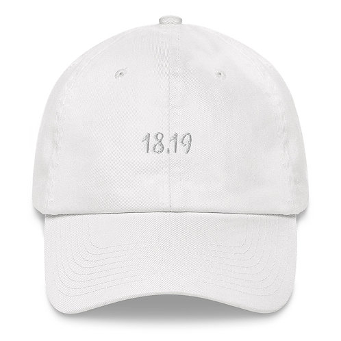 """""""18.19"""" Dad hat"""