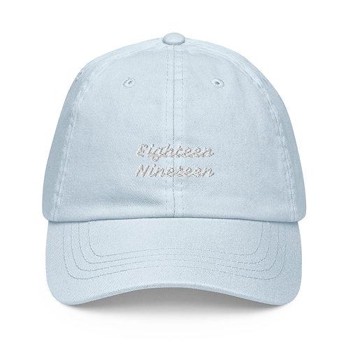 "Pastel  ""18.19 Double Logo"" baseball hat"