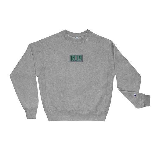 """18.19 ""Champion Sweatshirt"