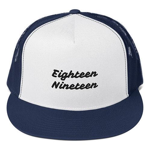 """Written""Trucker Cap"