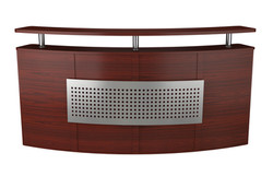 Curved Reception Front