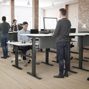 Linak® Height Adjustable Desk