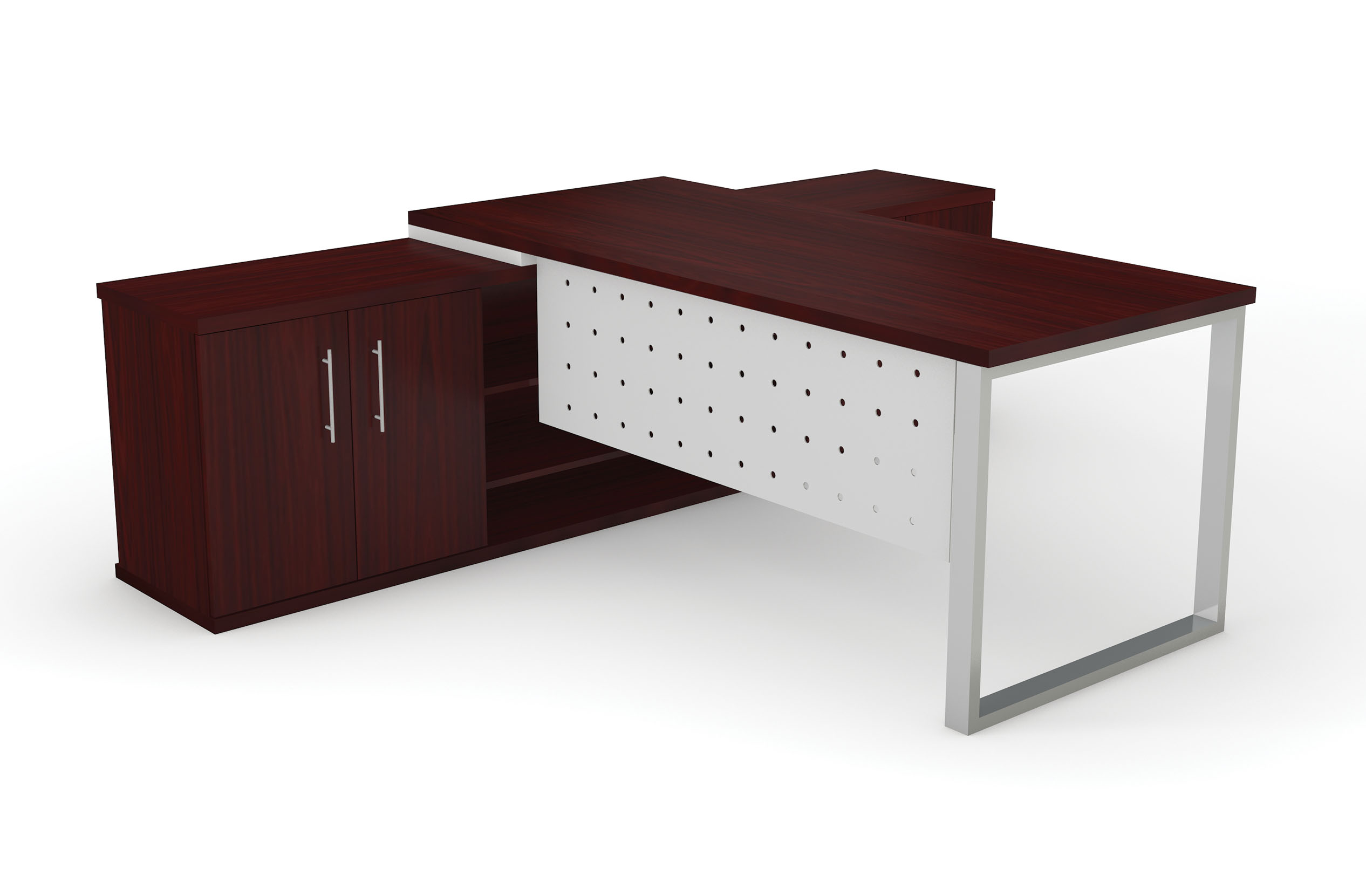Dakota Desk Unit Square Frame