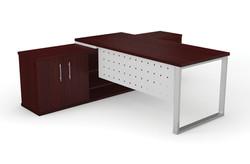 Dakota Desk Unit Square Frame