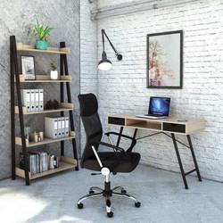 Arizona Desk with Stratton Bookcase