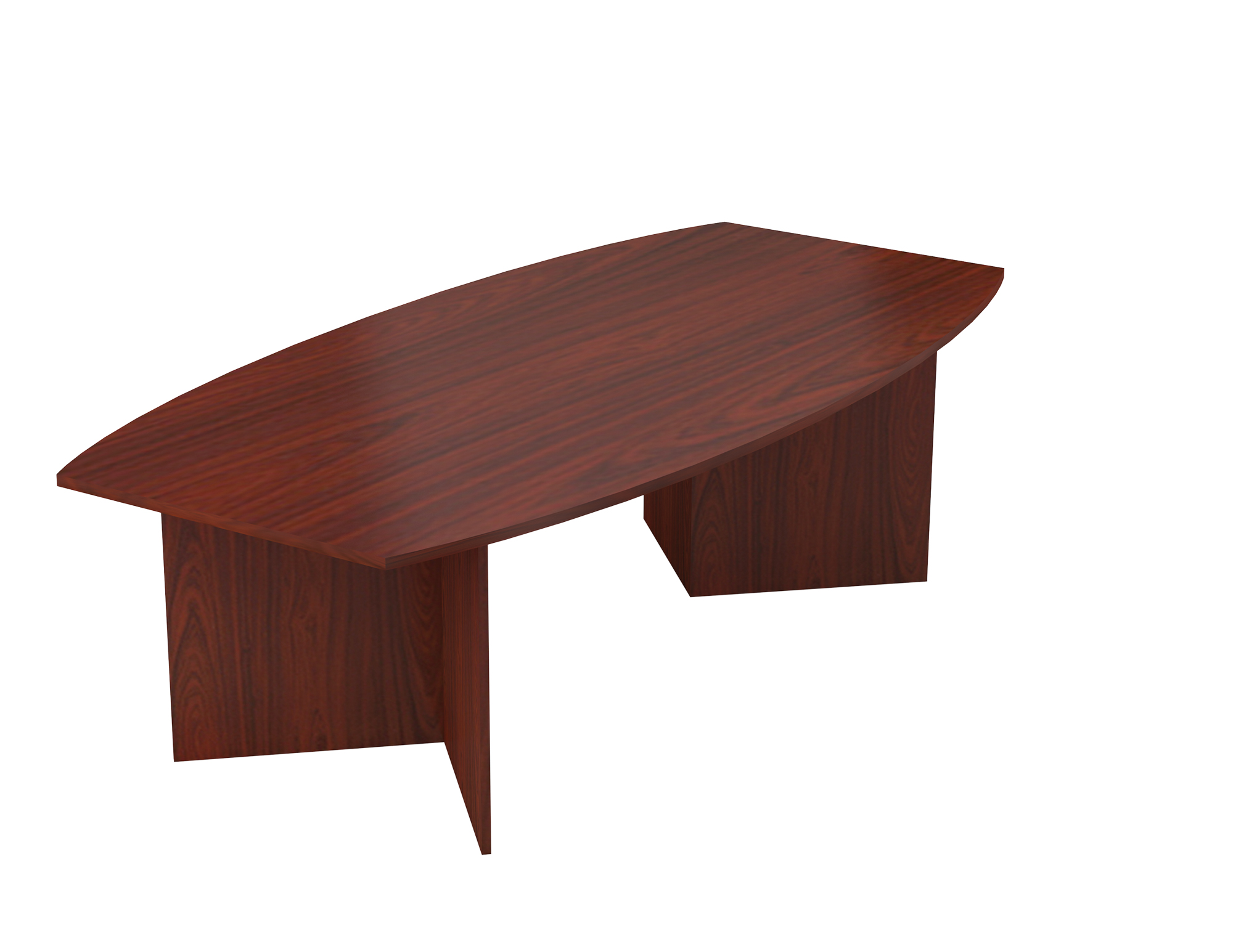 Barrel Shaped Boardroom Table 4
