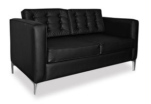 St Helena Double Seater Black