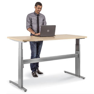 3 Stage Sit-Stand Desk