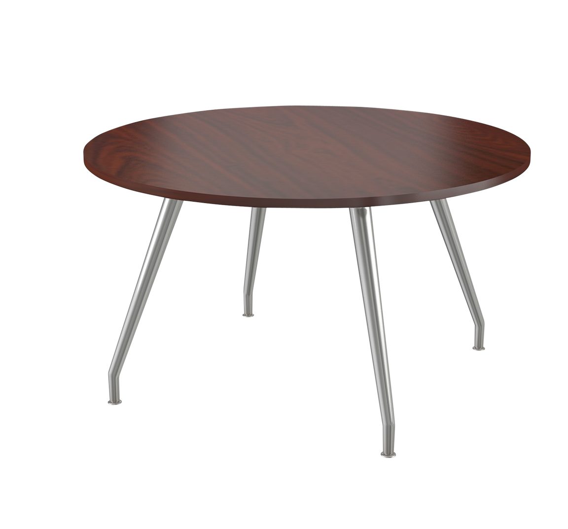 Steel Curved Legs Conference Table