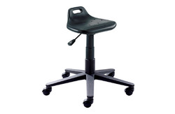 Industrial Saddle PU Chair