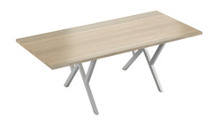 Vibe Steel Frame Boardroom Table
