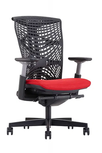 Merryfair-Reya-Red_Black-Ergo-Chair-scal