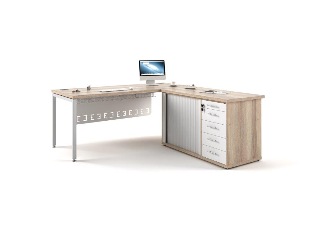 Euro 38 Desk with Pedenza