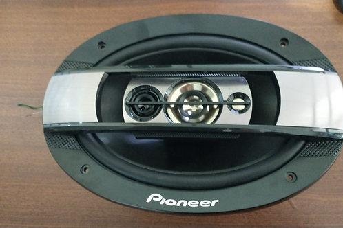 """Par de Alto-Falantes 6""""x9"""" Pioneer TS-6960BR - usado último par"""