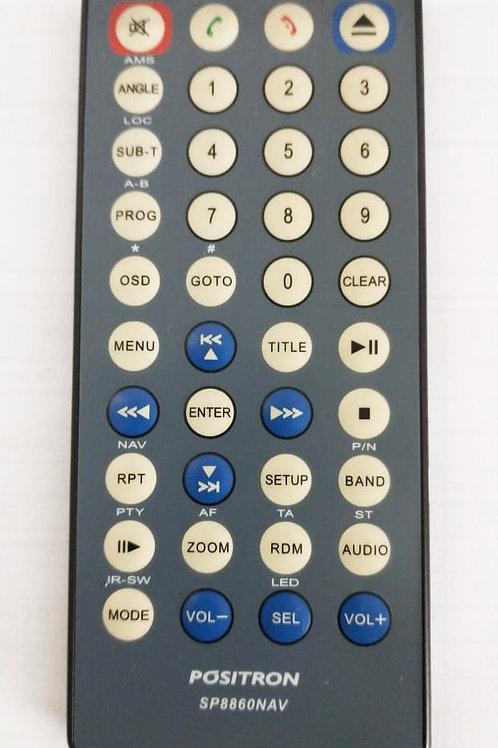 Controle para Rádio Positron Sp8860NAV -usado