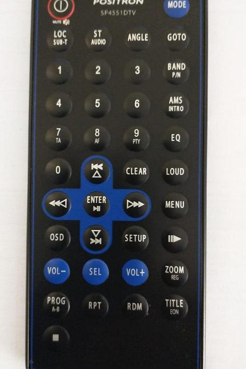 controle remoto para rádio positron SP4551DTV-usado