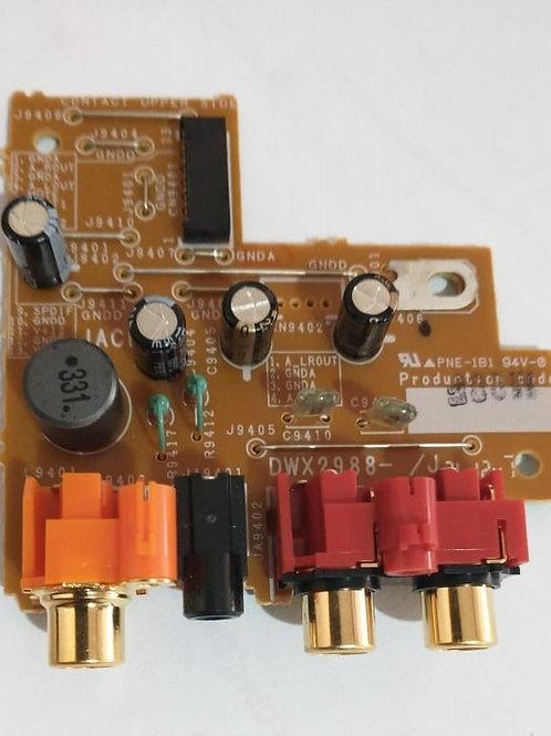 CONJUNTO DE CONTROLE  RCA PCB JACB PARA PIONEER CDJ 2000-DWX2988