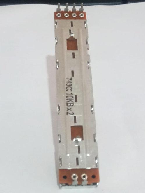 POTENCIOMETRO DESLIZANTE POL CROSFADER DJM300/600/750/DJM800 (SUBISTITUI DCV1003