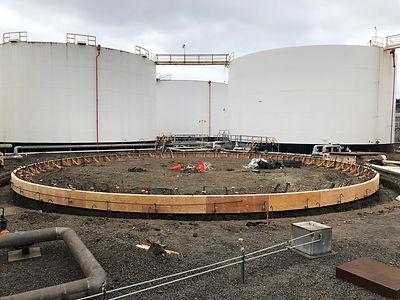 Above Ground Storage Tank Foundation Repair