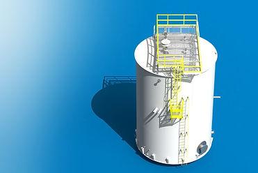 above ground storage tank design