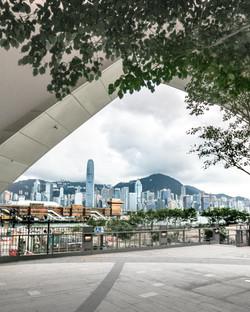 Xiqu Centre and Hong Kong Island