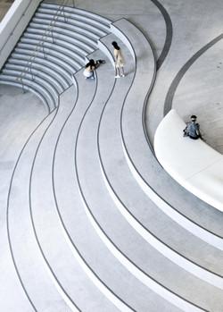 Atrium in Xiqu Centre
