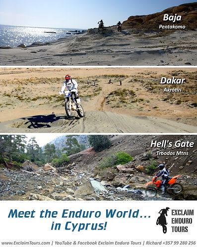 Exclaim Enduro Tours Cyprus