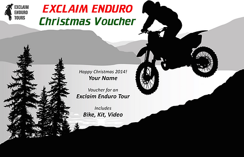 Exclaim Enduro School Gift Voucher | 10% off regular rate...