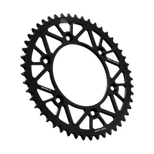 JT Racelite Black Aluminium Rear Sprocket | 49 Teeth