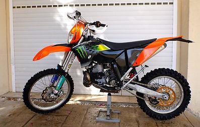 2011 KTM 300 EXC Two-Stroke Enduro Cyprus