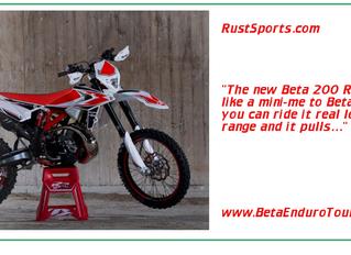 The lovely new Beta 200 RR...