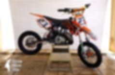 2007 KTM 50 SX Big Wheel for sale