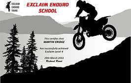 Exclaim Enduro School Cyprus Europe