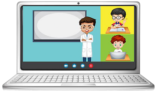 student-video-chat-online-screen-laptop-