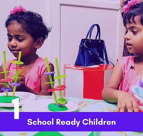 School Ready Children - Smart Ninja Global Pre School