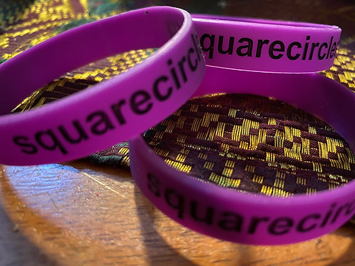 Square Circles Wristbands